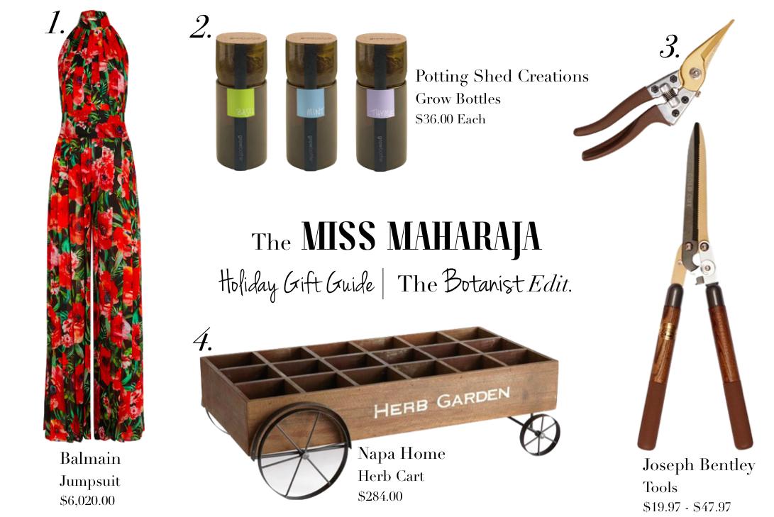 The Botanist Edition Miss Maharaja